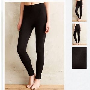 Anthropologie Tintoretta Cable Knit Leggings